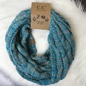 C.C Exclusives | Basket Weaved Infinity Scarf NWT